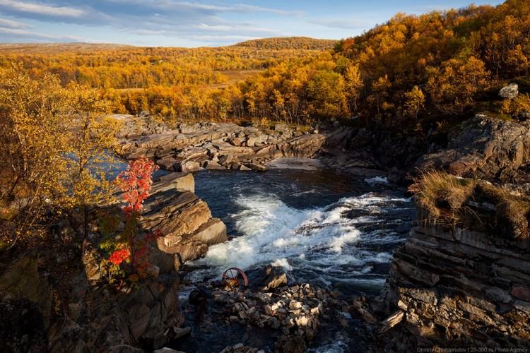 Осень на полуострове Рыбачий. Фото Дмитрия Чистопрудова
