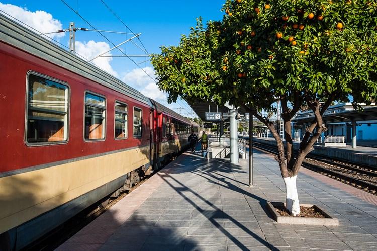Апельсиновый вокзал
