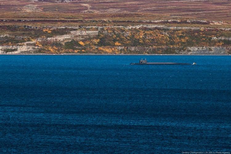 Подводная лодка.  Фото Дмитрия Чистопрудова