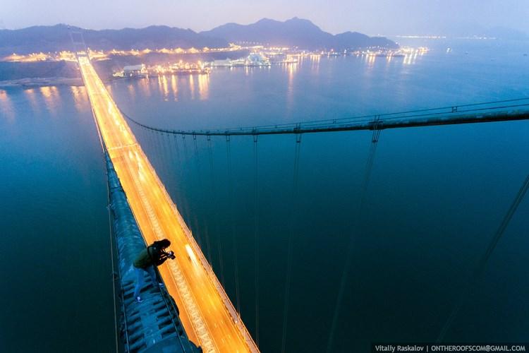 Гон Конг с высоты. Фото Виталия Раскалова