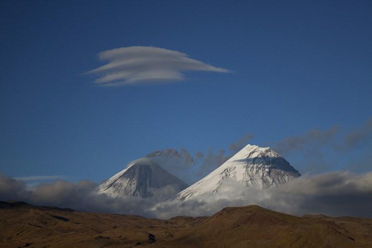 Вулкан Ключевская сопка. Фото: Денис Будьков