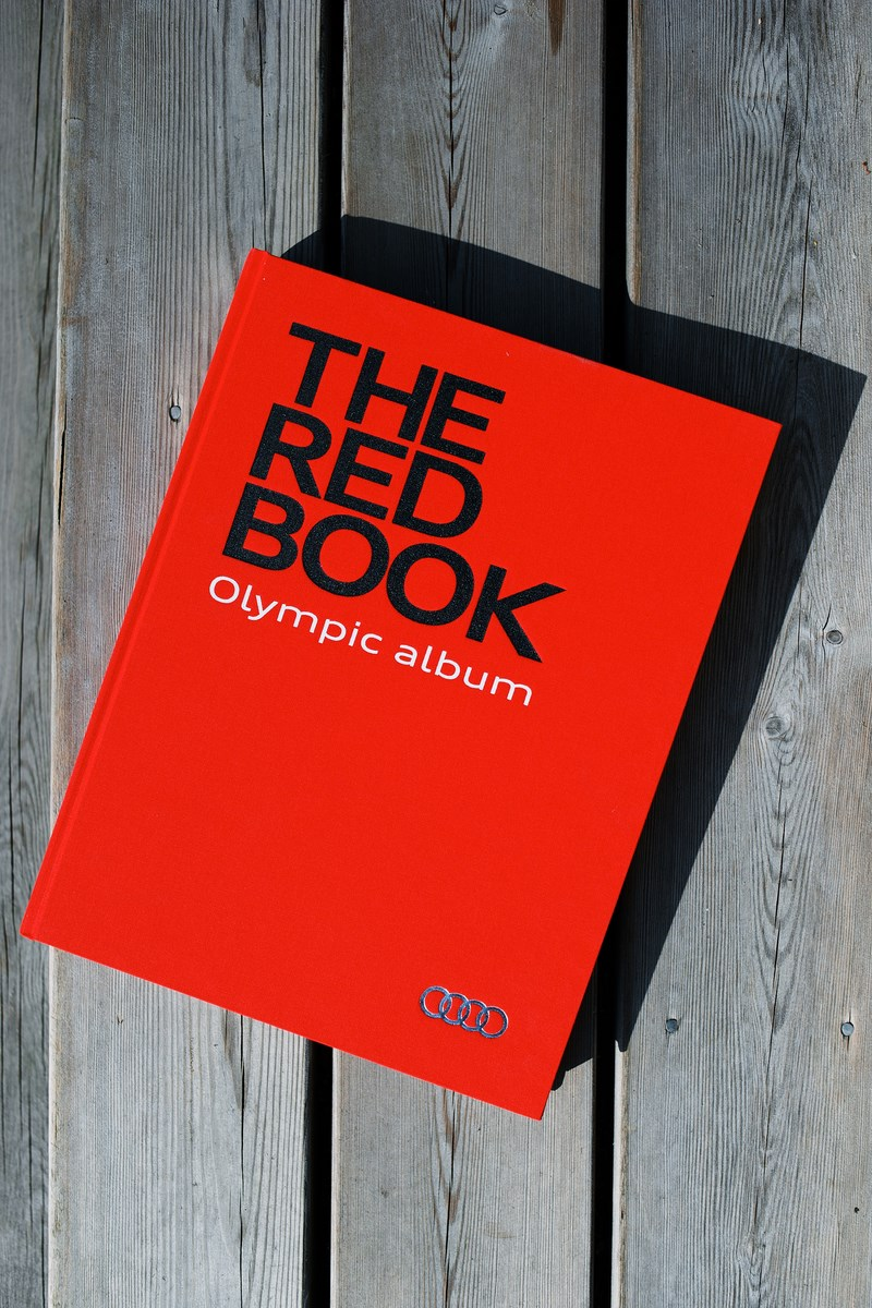 AUDI THE RED BOOK Olympic Album Photo by seregey Boyko