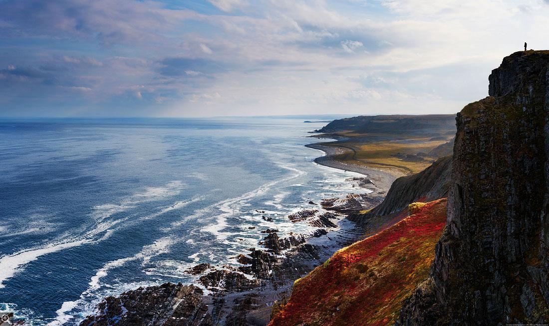 Полуостров Рыбачий — это вся энергетика Кольского в квадрате. Фото Дмитрия Чистопрудова