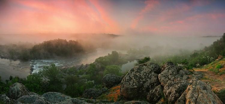 Туманные пейзажи. Фото: Денис Кривой