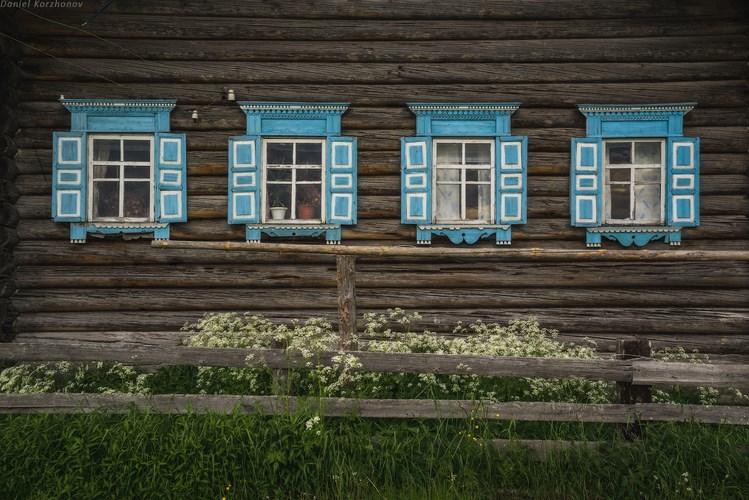 Деревянный дом. Фото Даниила Коржонова