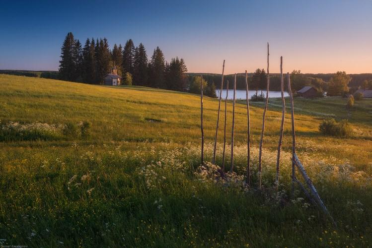 Пейзажи Кенозерского парка. Фото Даниила Коржонова