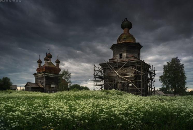 Часовни Кенозера. Фото Даниила Коржонова