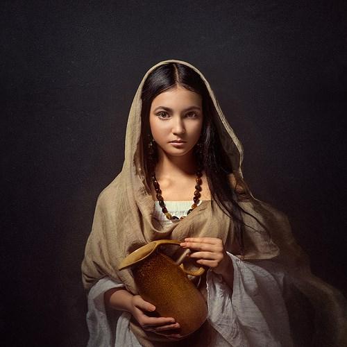 Портретная фотография Леры Лукащук