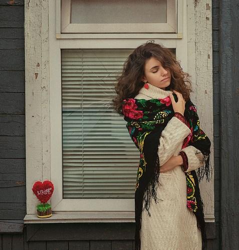 Портретная фотография Леры Лукащук.