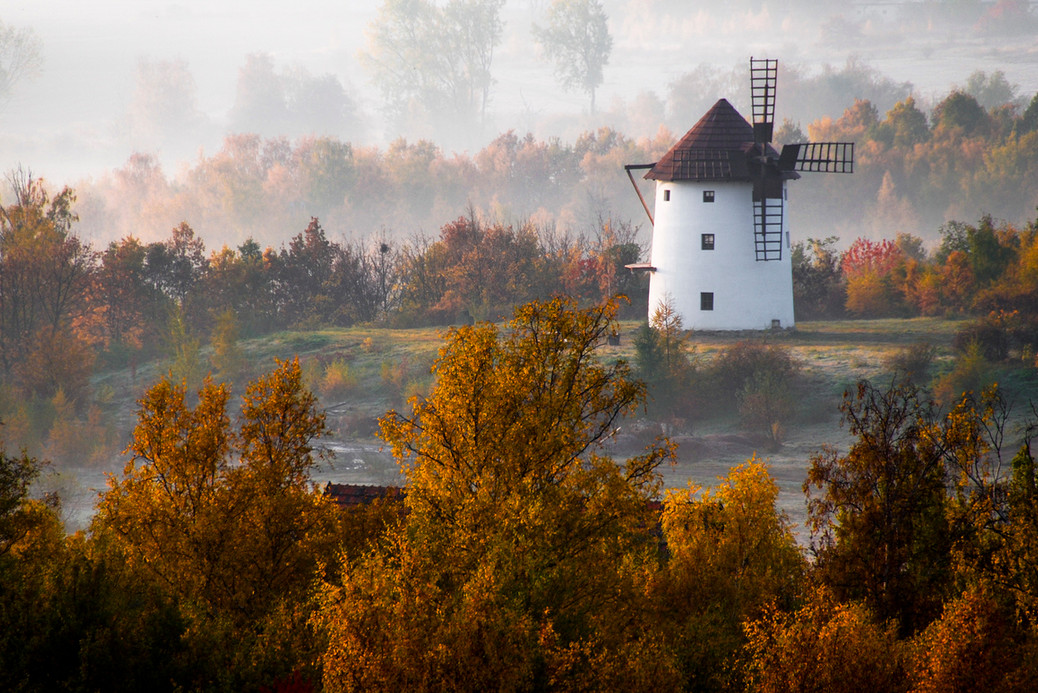Пейзажи с мельницами. Фото: Michal Miko