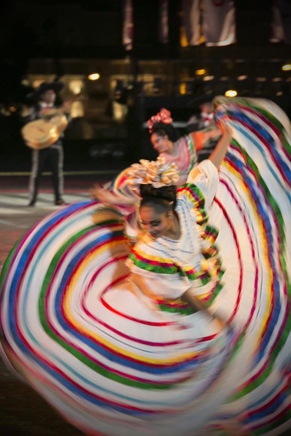 Ансамбль «Теночтитлан» из Мексики