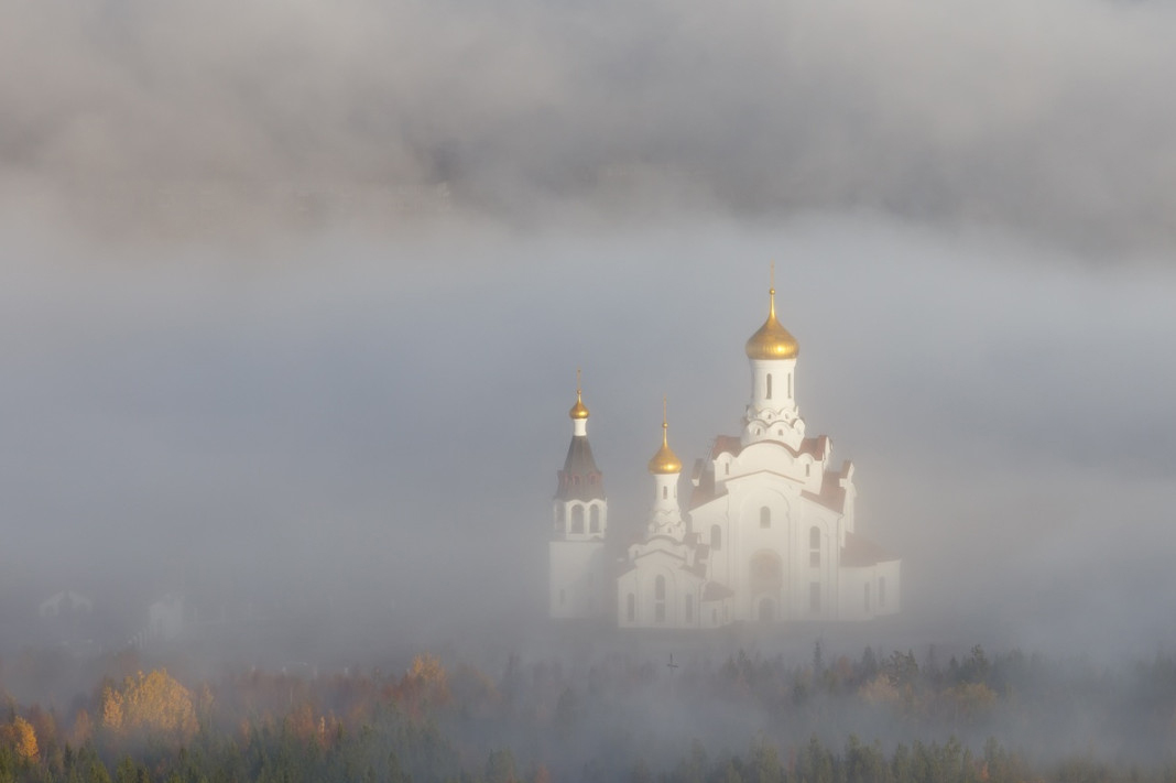 «Воздушный храм». Автор: Игорь Матвеев
