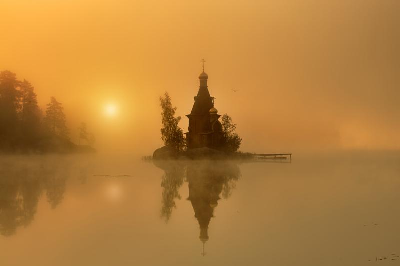Фото - Эдуард Гордеев. Храм на воде