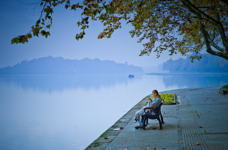 Озеро Сиху, провинция Чжэцзян. Фото: Wilson Li
