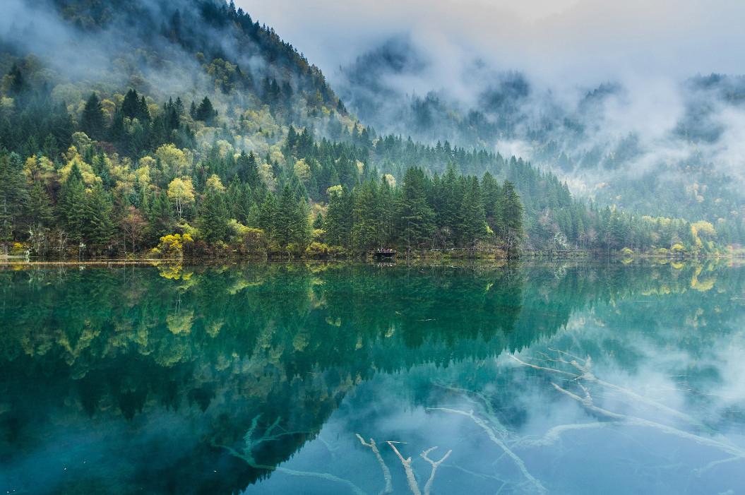 Национальный парк Цзючжайгоу, провинция Сычуань. Фото: Burm Speed