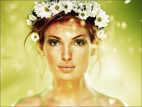 Весенний женский портрет. Фото: Олег Титяев