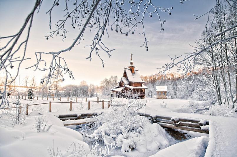 26 vitalik z. rossiya 30 великолепных зимних пейзажей