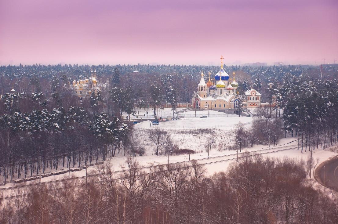 31 dmitry novikov moskva cerkov igorya chernigovskogo 30 великолепных зимних пейзажей