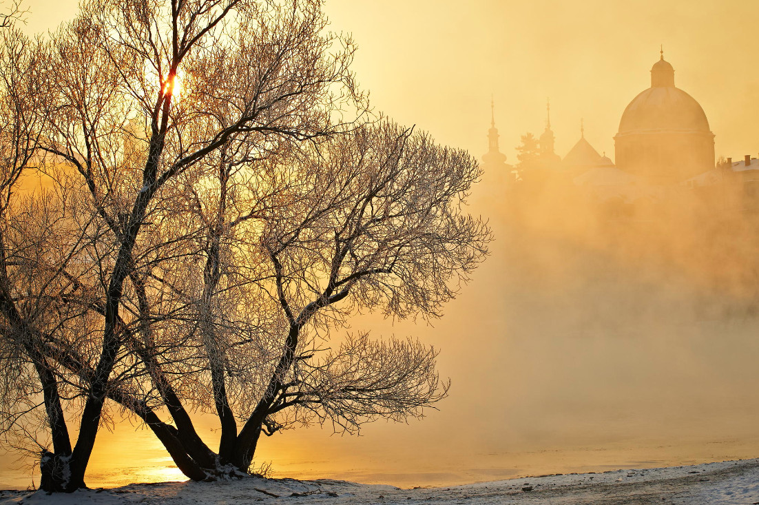 32 jaromir chalabala praga 30 великолепных зимних пейзажей