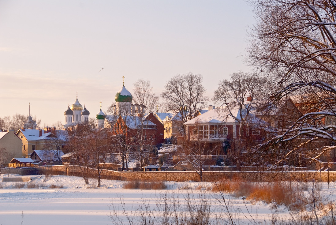33 nikolay chernousov pskov 30 великолепных зимних пейзажей