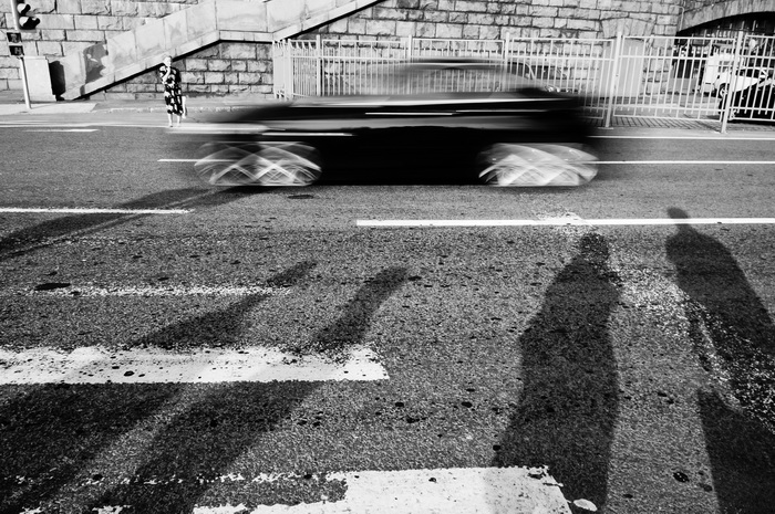 Уличная фотография Екатерины Елизаровой. Переход