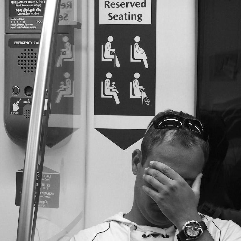 Сингапур, метро, тестовые фото OLYMPUS Stylus 1