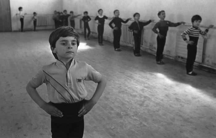 Урок танцев. Фото: Виктор Загумённов