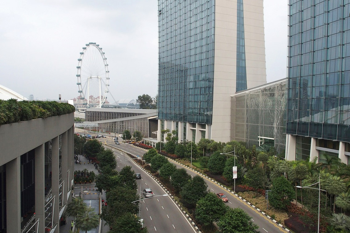 Сингапур, тестовые фото OLYMPUS Stylus 1