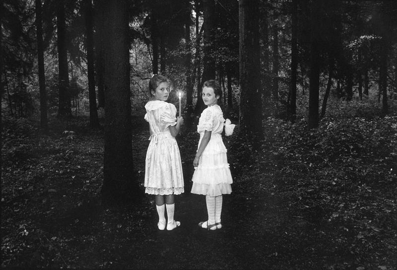 Девочки в лесу. Последние фотографии Виргилиуса Шонты