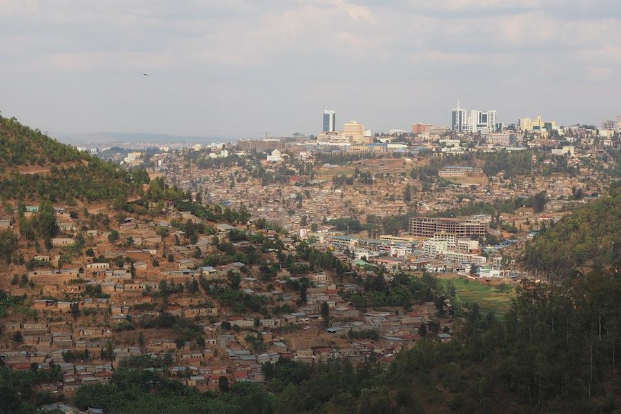 Кигали - столица Руанды