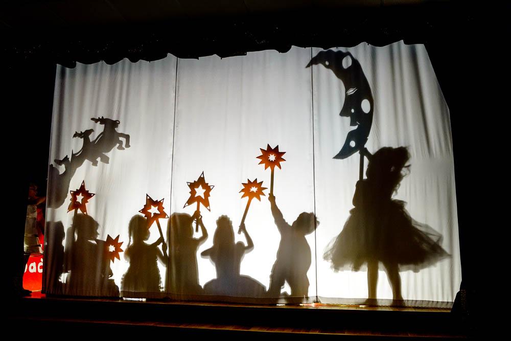 Как сделать театр теней своими руками дома мастер класс