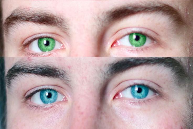 Как в домашних условиях можно поменять цвет глаз 1