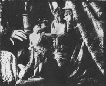 Луи Дагер, Натюрморт с гипсовыми отливками 1839